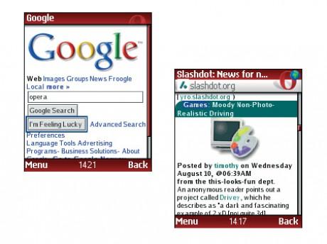 20.08.2008. Мобильный браузер Opera дополнится новой закладкой. Компания O